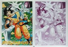 Dragon Ball Z GOKU Vs FREEZER pad mouse/poster in plastica flessibile cm. 18x25