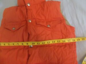 ORANGE TNF The North Face RARE 60/40 Sierra Nuptse Goose Down Vest Jacket READ