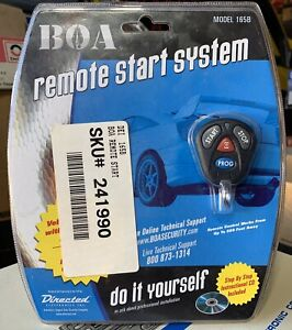 NEW Directed BOA Model 165B remote car start system,rare,NOS,NIB