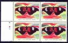 Butterflies, Insects, Paintings, India 2017 MNH Blk Colour Guide - F93w
