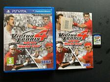 Virtua Tennis 4 Edición World Tour PAL ESPAÑOL PS Vita PSVITA