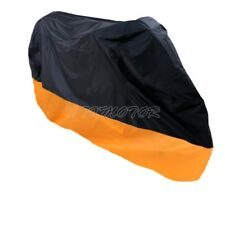 XXXL Size Orange Motorcycle Cover Bag For Harley Electra Glide Classic FLHTC