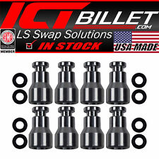 Fuel Injector Spacer Set of 8 LS1 LS6 Intake Manifold to LS Truck Injector Ad...