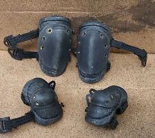1/6 Hot Toys SWAT KNEE CAP M4 Dam Triad SSGT Donald SAS LAPD DID Helmet Goggles