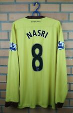 Nasri Arsenal jersey Xl 2010 2012 away shirt long sleeve soccer football Nike
