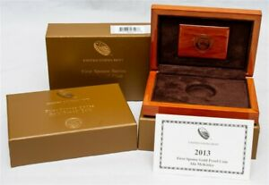 OGP For 2013-W First Spouse Gold Proof $10 - Ida McKinley - No Coin