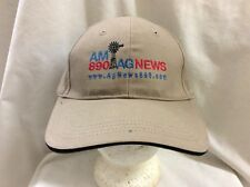 trucker hat baseball cap AM 890 AG NEWS retro vintage rare rave cool quality