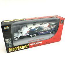 Jada Import Racer Baller Haulers Peterbilt 379 Semi Truck Trailer Die Cast 1/64