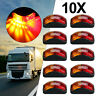 10X 2 LED Clearance Side Marker Lights Red Amber Car Truck Trailer Boat
