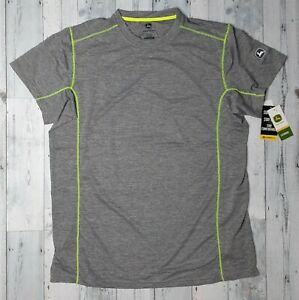 NEW John Deere Tractors Poly/Spandex Stretch Mesh T-Shirt Mens Sz XXL w/Logo