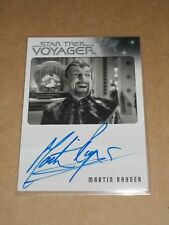 Star Trek Quotable Voyager Martin Rayner as Dr. Chaotica autograph MINT