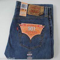 Levi´s ® 501 ®   Herren Jeans Neu MEDIUM STONEWASHED / BLAU  Viele Grössen NEU