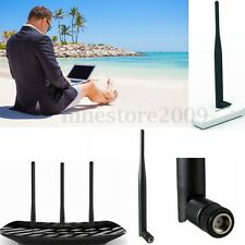 2.4G 5dBi RP-SMA Wi-Fi Booster Wireless Folding Antenna For Router IP PC Camera