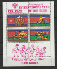 Timbres avec 4 timbres sur football