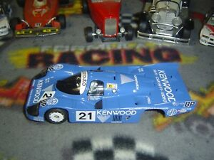 1/32 Slot.it #21 PORSCHE 956 body with front axle, guide, bare chassis-used