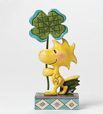 "Peanuts ""Luck of the Woodstock by Jim Shore NEW in Gift Box - 26179"