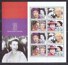 Gibraltar 2006 postfrisch Kleinbogen Satz MNr. 1154-1157 Königin Elisabeth II