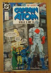 Captain Atom #26 VF+ 1989 DC Comics Justice League International - P&P Discounts