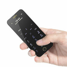 Anica A16 1.63 Inch Touch Sensitive Mobile Ultra-thin Dual SIM Bluetooth Phone