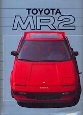 Toyota MR2 c.1985 English language original full colour sales brochure