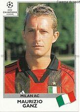 N°304 GANZ MILAN.AC UEFA CHAMPIONS LEAGUE 1999/2000 STICKER PANINI ITALIA