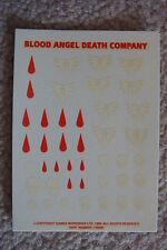 Warhammer 40k blood angel / blood angels transfer HHH  Rare OOP
