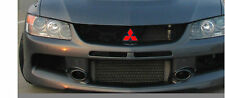 Mitsubishi Grille Front & Rear emblem overlay cover DECALS Lancer Evo Eclipse