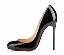NEW ! Christian Louboutin Fifi 120 patent black heels 39 39.5