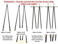 Vis en plastique accessoires pour attacher canopy pour cadre pour jardin balançoire