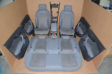 Audi S4 B9 8W Lederausstattung Leather Grau S-Line Sportsitze Leather Seat A4