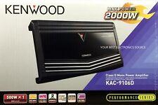 New Kenwood Kac-9106D Class D, 1-Channel Mono Car Audio Amplifier