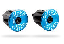 Pro Road MTB Handlebar End Plugs Anodized alloy Blue, endplug
