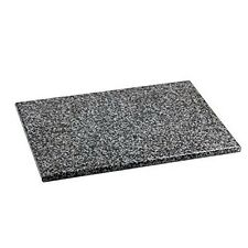 Home Basics CB01881 12 inch X 16 inch Granite Cutting Board Slip Resistant New