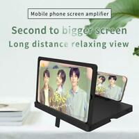 10in- 3D Mobile Phone Screen Enlarge Magnifier Video Amplifier Stand Smart Phone