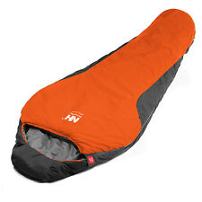 0 Centigrade Mummy Sleeping Bag Cold Weather Outdoor Camping with Carrying Bag