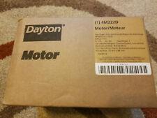 Dayton Motor 4M222D Brand New in Sealed Box