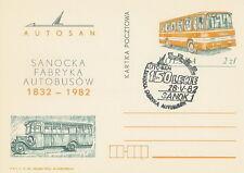 Poland postmark SANOK - motorization bus AUTOSAN
