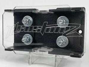 Heavy Duty ILL Customz 2 Spot Dual Lug Style ANL Fuse Block Fuse Holder