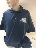 "Harley-Davidon Men's S/S Blue Polo Shirt ""Tanker "" Size XL"