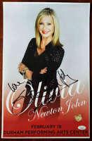 Olivia Newton John JSA Cert Hand Signed 11x17 Concert Poster Autograph