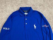 TOUR ISSUE Polo Ralph Lauren Golf Shirt Jonathan Byrd Small Men's RLX Pro Logo