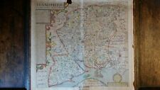 More details for 1637 large antique copperplate map - hampshire - john norden / william hole