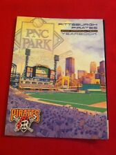 2001 MLB Pittsburgh Pirates yearbook / PNC Park debut / Giles / Ramirez / Young