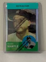 1996 Topps * Mickey Mantle * Finest Refractor  #13