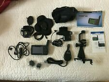 Garmin GPSMAP 496 Aviation GPS with Antenna, Charger, accessories