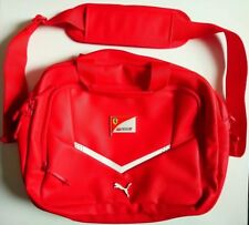 BRAND NEW, FERRARI RED, UNIVERSAL LAPTOP BAG, UP TO : 15.5', WITH METAL BADGES .