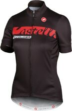 Castelli Women's Fabulous Jersey Black Size XS-Large : Glitter