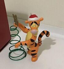 TREE ORNAMENT Disney Tigger TIGGER'S SPRINGY TREE Hallmark Keepsake Christmas