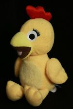 "Sprout 12"" Sunny Side Up Yellow CHICA Chicken Bird Plush Toy Doll"