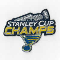 NHL Stanley Cup Champions 2019 St. Louis Blues Iron on Patches Embroidered C